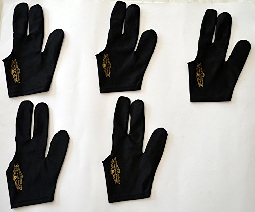 Why Should You Buy 5 Champion Sport Black Pool Glove Left Handed (5 Gloves Per Package),get One Free...