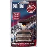 Braun Foil/Cutter For All 5000/6000 Series Black by BRAUN