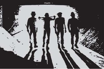 Clockwork Orange Movie (Subway Silhouette) Poster Print - 24x36 Poster Print, 36x24 Poster Print, 36x24 Poster Print, 36x24