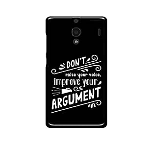 Vibhar printed case back cover for Xiaomi Redmi 1s Argument