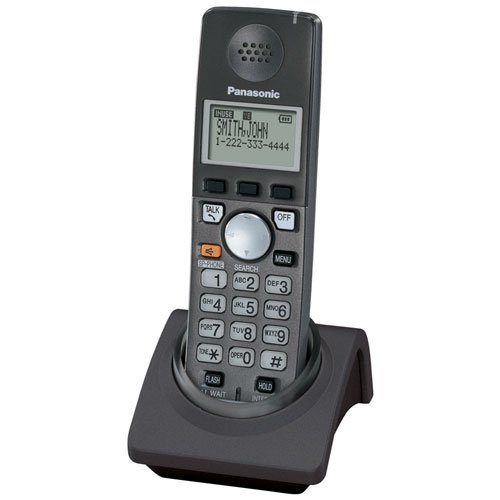 Panasonic Kx-Tga670B -Extra Handset For Kx6700 Series (2-Line) - Black