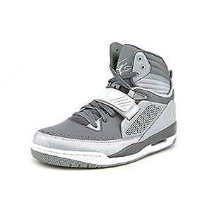 Nike Jordan Flight 45 Mens Size 7.5 White Leather Sneakers Shoes