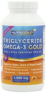 1 omega 3 fish oil capsules triglyceride for Fish oil triglyceride form