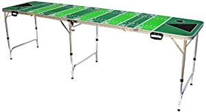 Red Cup Pong Football Tailgate Beer Pong Table - Premium HD Graphic by Red Cup Pong