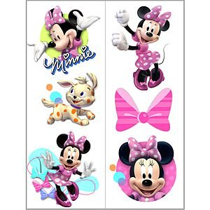 Minnie Mouse Bows Tattoo - 2 Sheets - 1