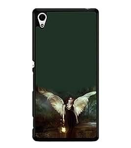 PRINTSWAG ANGEL GIRL Designer Back Cover Case for SONY XPERIA Z4