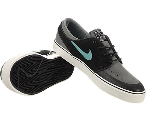 0a2ee22dafc9 pictures of Nike SB Zoom Stefan Janoski Premium SE - Black   Crystal  Mint-Cool
