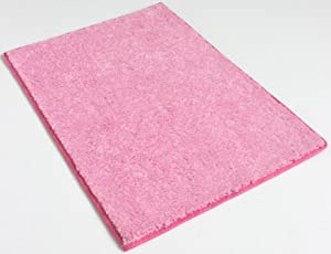 "4'x6' Area Rug. Color: Fairy Princess PINK Carpet 25.5 Oz. SOFT PLUSH, AFFORDABLY ELEGANT & DURABLE. 20 Vibrant ""mod"" colors to choose from. Premium Nylon Fabric finished edges. MANY SIZES and Shapes: Rectangles, Squares, Circles, Half Rounds, Ovals, and Stair Treads."