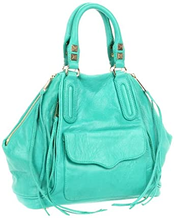 Rebecca Minkoff Mini Romeo 10TICOCTR2 Tote,Bright Green,One Size
