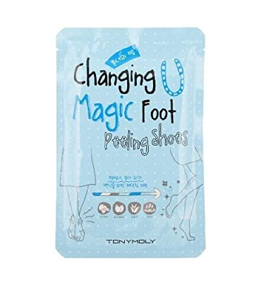 TONYMOLY Changing U Magic Foot Peeling Shoes, 5.60 Ounce