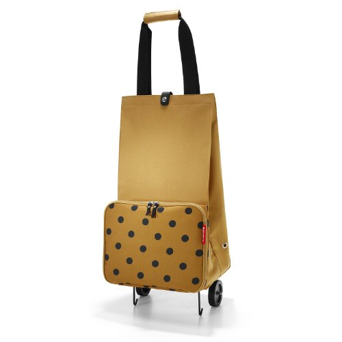 reisenthel Foldable Trolley camel dots