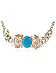 Style Fiesta Choker Necklace For Women (Blue) (JN146)