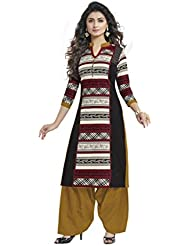 CHINTAN TEXTILES Ethnicwear Women's Kurti Fabric Mulati-Coloured Free Size