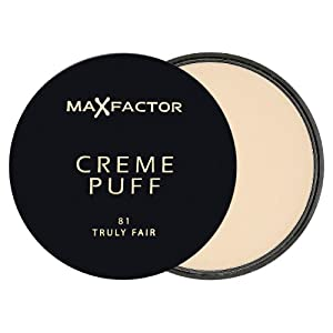 Max Factor Creme Puff Powder Makeup 81 Truly Fair