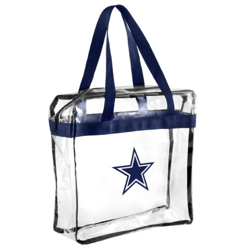 2013 Messenger Bag NFL Football Clear See Thru - Pick Team (Dallas Cowboys) at Amazon.com