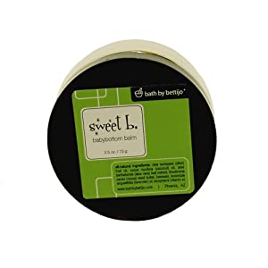 Sweet B. Babybottom Balm, 2.5-Ounce Jars