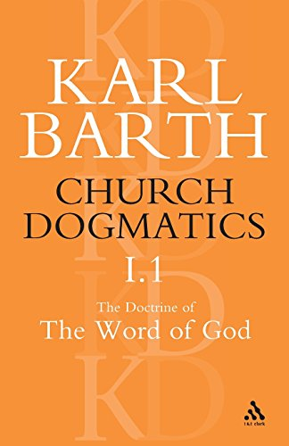 Church Dogmatics I.1: The Doctrine of the Word of God