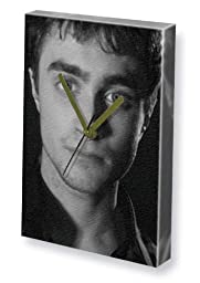 DANIEL RADCLIFFE - Canvas Clock (LARGE A3 - Signed by the Artist) #js004