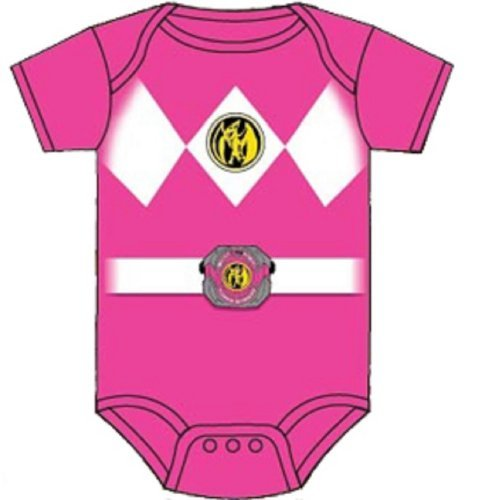 Power Rangers Pink Baby Ranger Costume Romper Onesie (18-24 Months) Color: Pink Size: 18-24 Months Model: (Power Ranger Model compare prices)