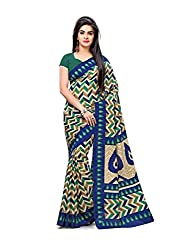 JMT Women's Silk Saree ( JMT116 _ Multi-Coloured )