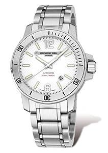 Raymond Weil Men's 3900-ST-05307 Nabucco White Dial Watch