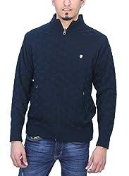 Romano REVERSIBLE 2 in 1 Warm Winter Front Zipper Sweater for Men