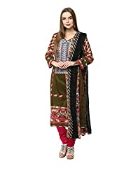Yepme Women's Green Blended Unstitiched Suits - YPMRTS0300_Free Size