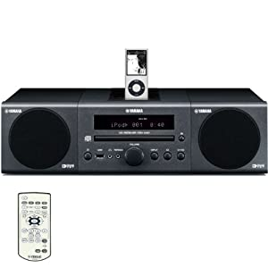 Yamaha MCR-040DG Micro Component System (Dark Gray)
