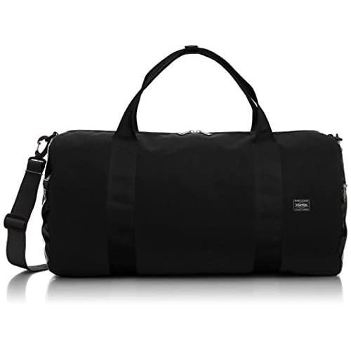 [ビージルシヨシダ] B印 YOSHIDA AMPHIBIOUS×B印 YOSHIDA×PORTER NEW BOSTON BAG 34610724176 19 (BLACK/ONE SIZE)