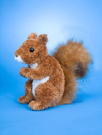 "Roadie Red Squirrel 6"" by Douglas Cuddle Toys - 1"