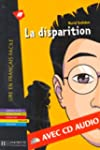 La disparition (1CD audio) (Lire En F...