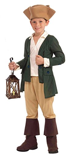 Paul Revere Child Costume - Large