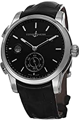 Ulysse Nardin Gmt Dual Time Men's Automatic GMT Watch 334-312-6/92