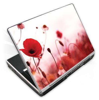 Design Skins für Acer Aspire 5253 - Red Flowers Design Folie