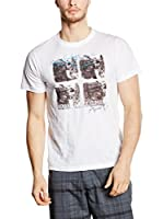 Alpine Pro Camiseta Manga Corta SEPIK (Blanco)