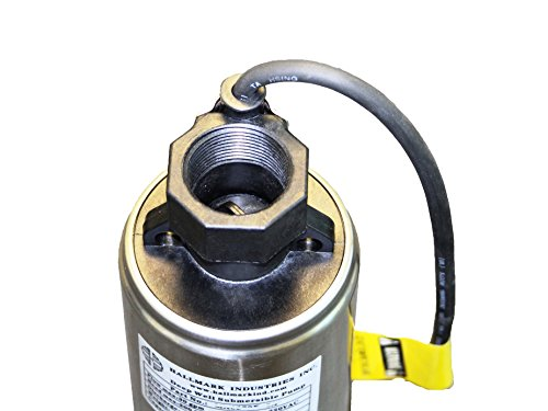Hallmark-Industries-MA0414X-7A-Deep-Well-Submersible-Pump-1-hp-230V-60-Hz-33-GPM-207-Head-Stainless-Steel-4