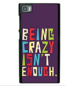 Life Quote 2D Hard Polycarbonate Designer Back Case Cover for Xiaomi Redmi Mi3