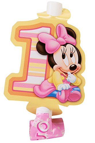 Minnie'S 1St Birthday Blowouts 8Ct front-1066797