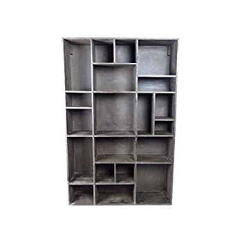 Vagabond Vintage, Wall Cubby in Recycled Pine with 20 Compartments