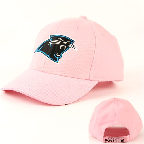 Pink Carolina Panthers Cap