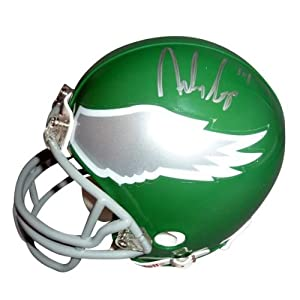 Riley Cooper Autographed Philadelphia Eagles (Throwback) Mini Helmet by PalmBeachAutographs.com