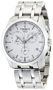 Tissot Couturier GMT Silver Dial Trend Mens Watch T0354391103100