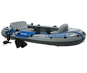 Intex Excursion 4 Boat Set - 2013 Model by Intex