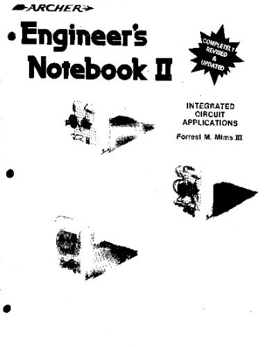 Engineer's notebook II: A handbook of integrated circuit applications