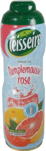Teisseire Pink Grapefruit Syrup Pamplemousse 600 Ml 20.3 Fl Oz