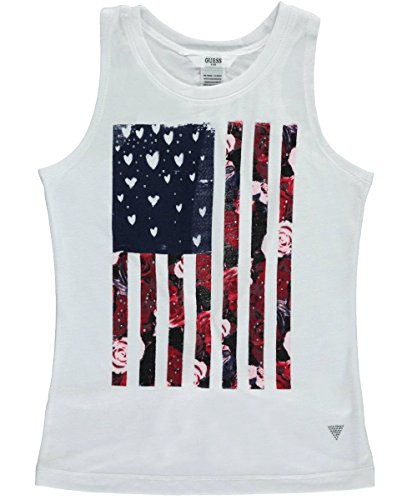 GUESS Kids Tie-Back Flag Tank (7-16)