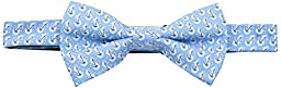 American Lifestyle Men\'s Anchor Bowtie, Blue, One Size