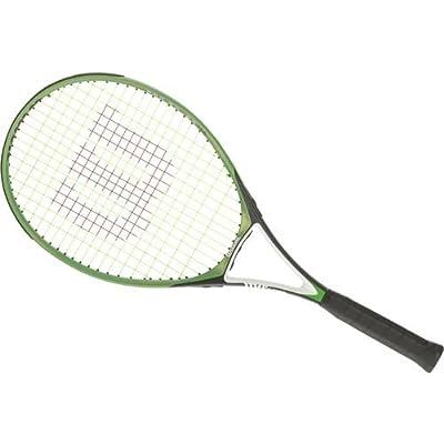 "Wilson Pro Power 110 Tennis Racket (Color: Green; 27"" Length; 4.375"" Grip Size)"