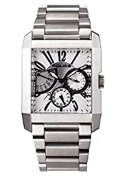 Police Gents Side Avenue Bracelet with Silver Dial Watch