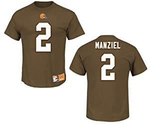 Cleveland Browns Johnny Manziel Eligible Receiver II Name and Number T-Shirt by VF
